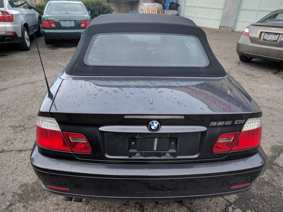 BMW I Cabriolet Forward Auto Gallery - 2005 bmw 325i convertible
